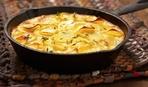 Запеченный картофель со сливками и сыром по рецепту Джулии Чайлд