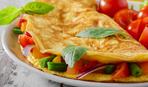 Белковый омлет с овощами