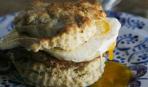 Бисквит с яйцом