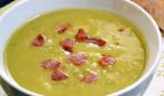 Картофельно-гороховый суп с беконом