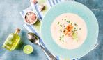 Суп с молоком и арахисовым маслом