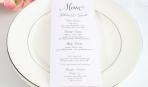 Как составить банкетное меню на свадьбу?