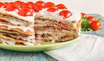 """Блюдо дня: закусочный кабачково-помидорный торт """"Ромул"""""""
