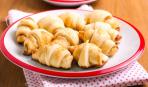 Закусочные рогалики - с мягким сыром и чесночным маслом