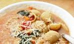 Тосканский суп с колбаской