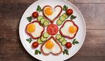 Вкусный завтрак: яичница в кольцах перца