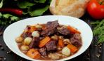Тушеная говядина по-бургундски: пошаговый рецепт