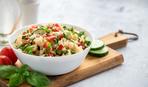 Булгур с томатным салатом