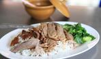 Пряный рис с утиными грудками