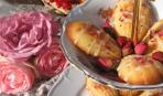 Печенье «Мадлен» с розовой водой