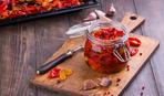 Закуска из вяленых помидоров