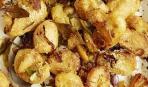 Картофель с лимоном и пармезаном