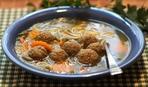 Томатный суп с фрикадельками в мультиварке
