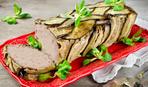 Мясной кекс с баклажанами - все ахнут!