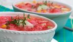 Идеальный в летний зной: томатно-арбузный суп