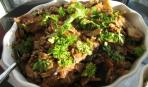 Майоркский картофель с запеканкой из баклажанов