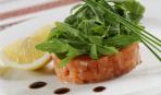 Тартар из тунца бонито с оливковым маслом на сое и имбире