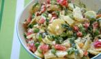 Овощной салат с картофелем