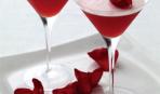 Розово-томатный коктейль