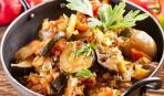Блюдо дня: овощное рагу с хамоном