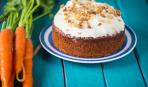 Порадуйте родных: морковный пирог с лимонной глазурью