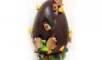 Шоколадное яйцо-шедевр