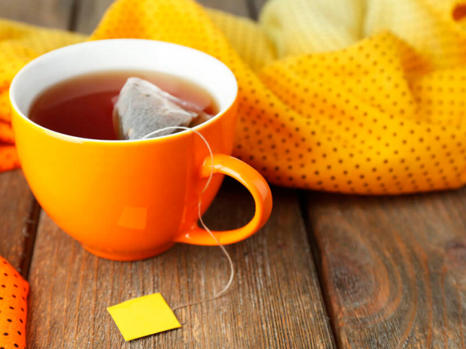 грибной напиток на чае