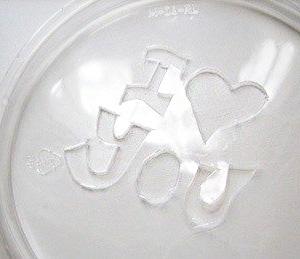 Романтическая надпись в чашке кофе