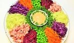 Новогодний салат-ассорти «Калейдоскоп»