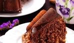 Бананово-шоколадный пирог с орехами пекан и карамелью