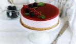 Йогуртовый торт с ягодами (без выпечки)