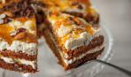 Десерт без вреда для фигуры: гречнево-ореховый торт