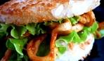 Бургер по-японски от Йоши Фудзивары