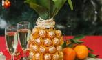 Шампанское в ананасе