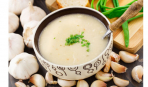 Чесночный крем-суп