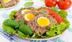 Мясной хлеб с яйцом внутри: пошаговый рецепт