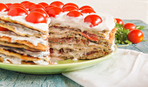 """Блюдо дня: Закусочный торт из кабачков """"Наталочка"""""""