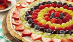 Хит лета — фруктовая пицца: пошаговый рецепт