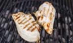 Фаршированные куриные грудки на гриле