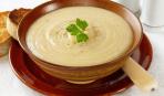 """Крем-суп из цветной капусты """"Белое и горячее"""""""