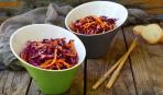 Нарядный и полезный: салат с фиолетовой морковью