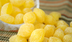 Как приготовить лимонные желейные конфетки