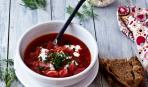 Вегетарианский борщ: простой рецепт