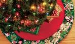 Юбка для елки: 10 отличных идей
