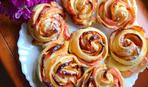 Що приготувати на десерт: яблучні розочки