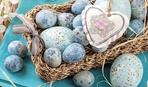 10 необычных абстрактных узоров для пасхальных яиц