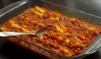 Каннеллони с курицей и томатным соусом: пошаговый рецепт