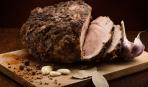 Что приготовить в рукаве для запекания: свинина с чесноком