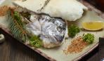 Запеченная рыба в соли