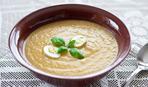 Суп-пюре яичный